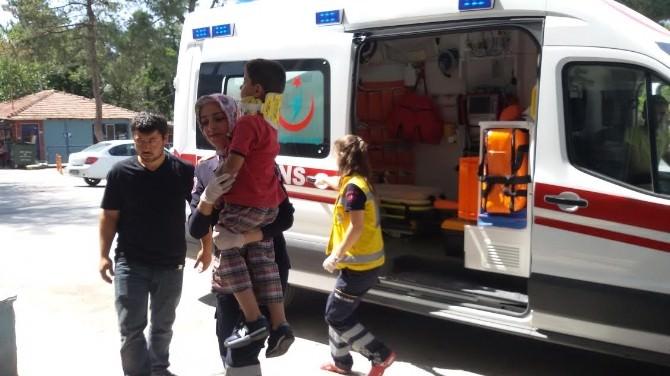 Bilecik'te Motosikletin Çarptığı 7 Yaşındaki Çocuk Yaralandı