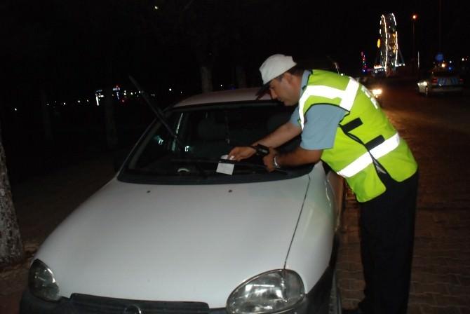 Didim'de Park Yasağına Uymayan Sürücüler Affedilmedi
