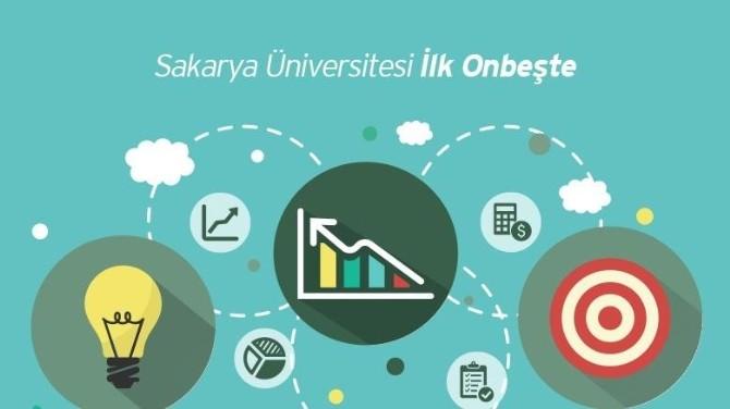 Sakarya Üniversitesi İlk Onbeşte