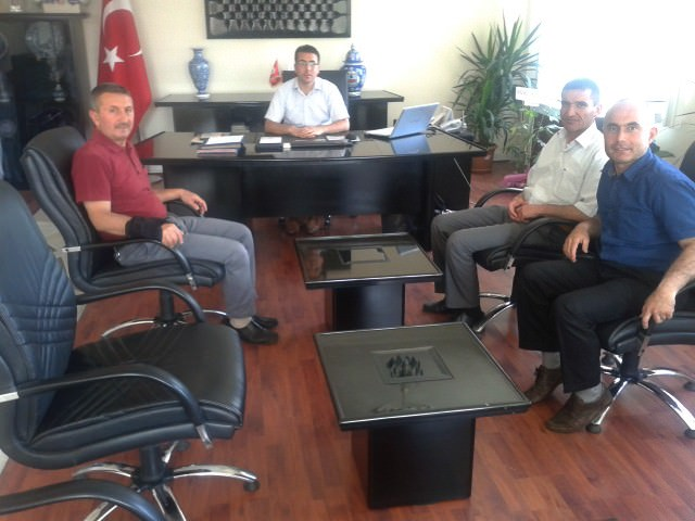 Hisarcık Kızılay Şubesi'nden Kaymakam Bayraktar'a 'Hayırlı Olsun' Ziyareti