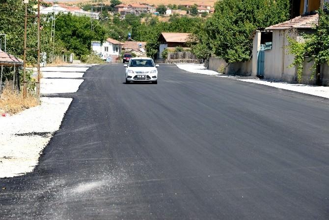 Orduzu Ve Şanlıkaya Mahallelerinde Asfalt Çalışması