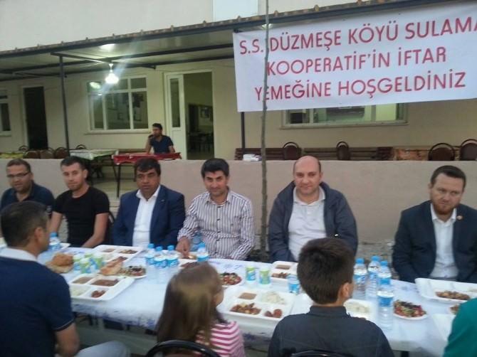 Düzmeşe Köyü Sulama Kooperatifi İftar Yemeği Düzenledi