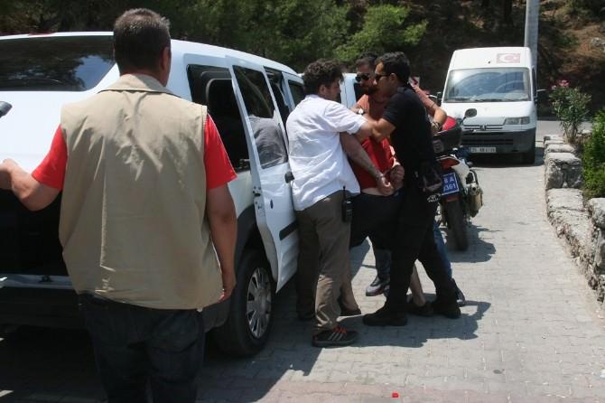 Fethiye'de Hırsız Polis Kovalamacası