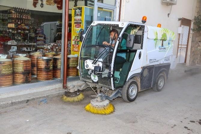 Şehitkamil'de Bütün Sokaklar Temizleniyor