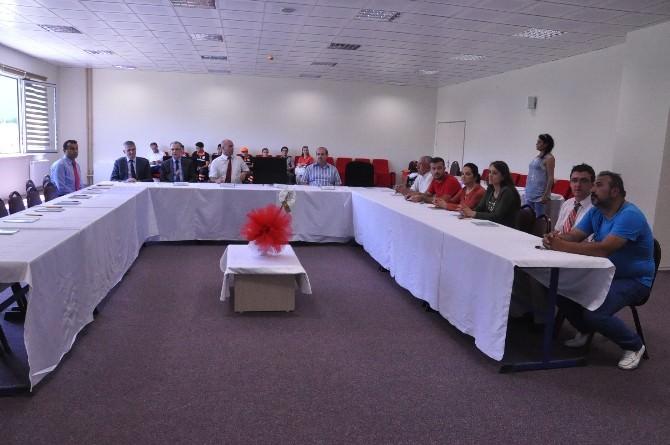 İtfaiyecilik, İş Güvenliği Ve Arama-kurtarma Uygulama Ve Araştırma Eğitim Merkezi Projesi'nin Kapanış Toplantısı Yapıldı