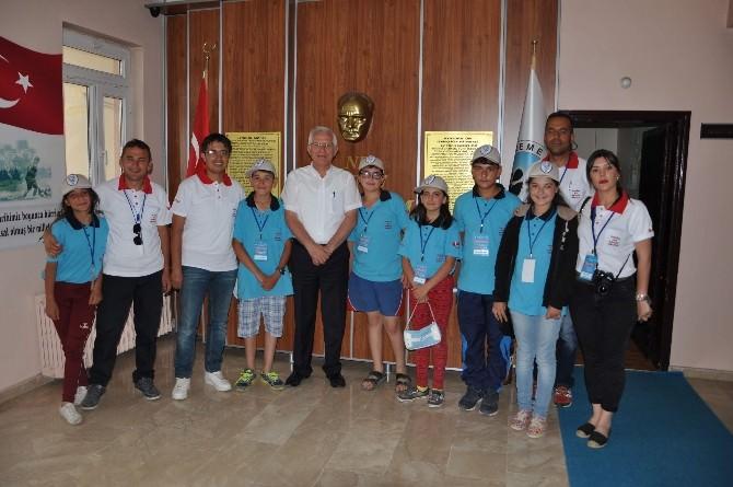 Tunceli'den Gelen Gençler Göreme'de