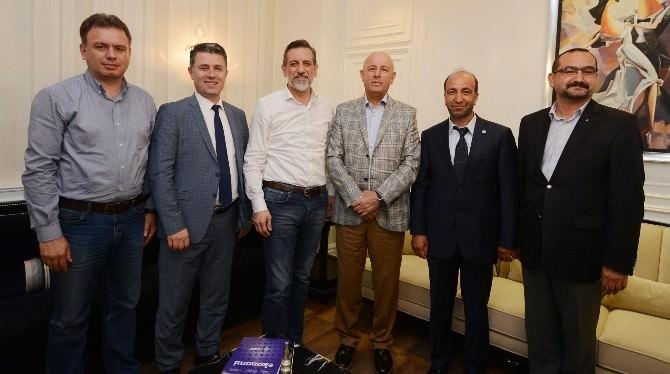 Türkiye Perakende Federasyonundan BTSO'ya Ziyaret