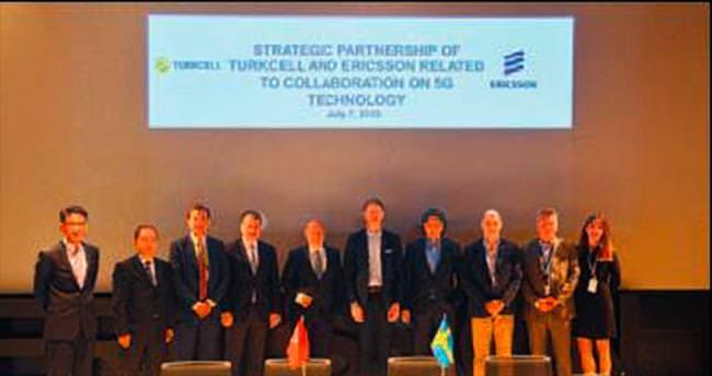 Turkcell Ericsson'la 5G anlaşması imzaladı