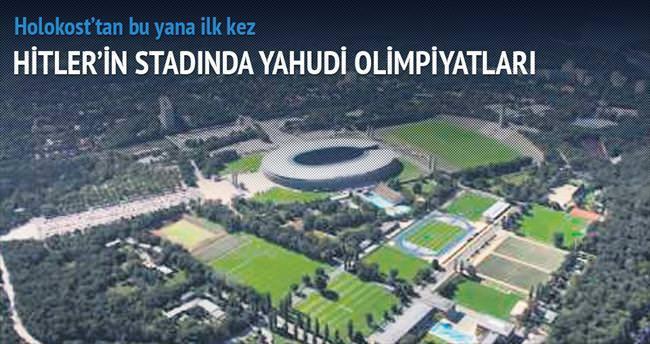 Hitler'in stadında Yahudi Olimpiyatları
