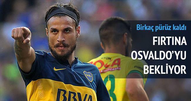 Osvaldo'yu bekliyor