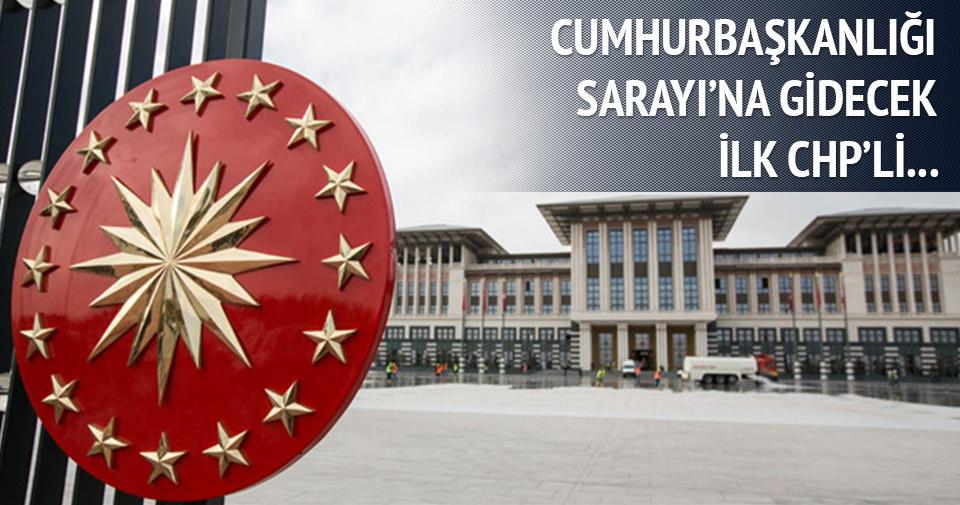 CHP'li Başkan Cumhurbaşkanlığı Sarayı'na gidiyor