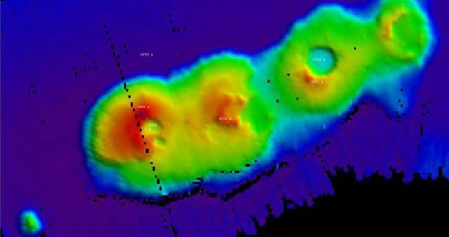 Sönmüş volkanlar 50 milyon yaşında