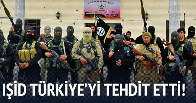 IŞİD, Türkiye'yi tehdit etti!