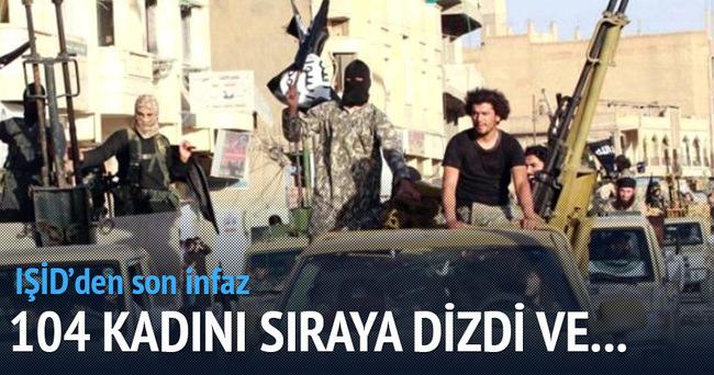 IŞİD'in son katliamı: 104 kadına sünnet