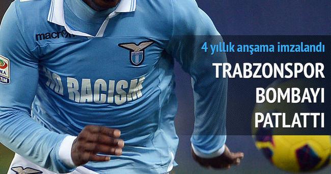 Trabzonspor Cavanda ile 4 yıllık sözleşme imzaladı