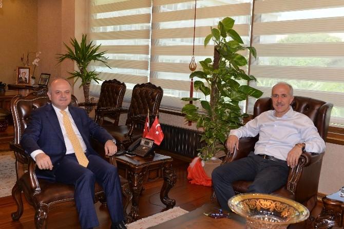 AK Parti Milletvekili Gültak, Vali Çakacak'ı Ziyaret Etti