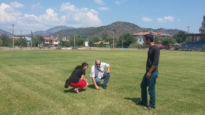Ortaca Ahmet Ateş Stat'ı Yenileniyor