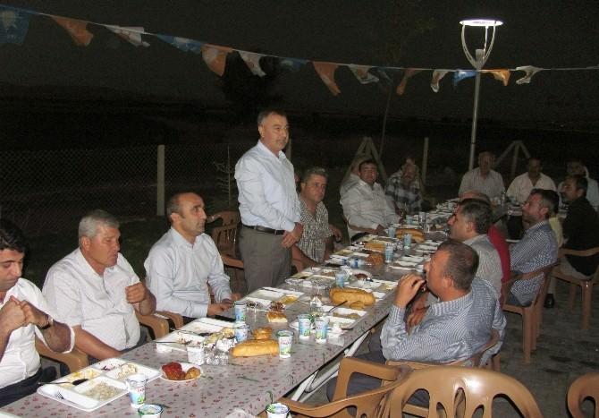 Arabanlı AK Partililer İlçe Teşkilatının İftar Yemeğinde Buluştu