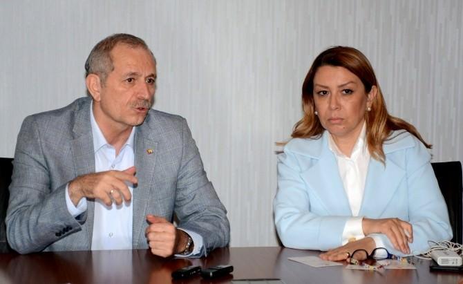 AK Parti Kurmayları ATB Yönetimini Ziyaret Etti