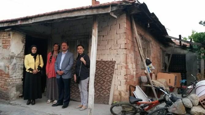 Kırıkkale Milletvekili Can, Tarlacı Ailesine Misafiri Oldu