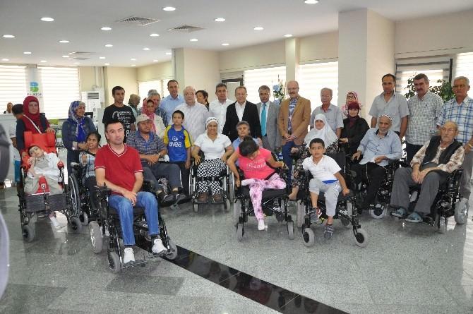 Büyükşehir'den Engellilere 16 Tekerlekli Sandalye