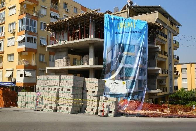Buca'daki Bem Binası Hızla Yükseliyor