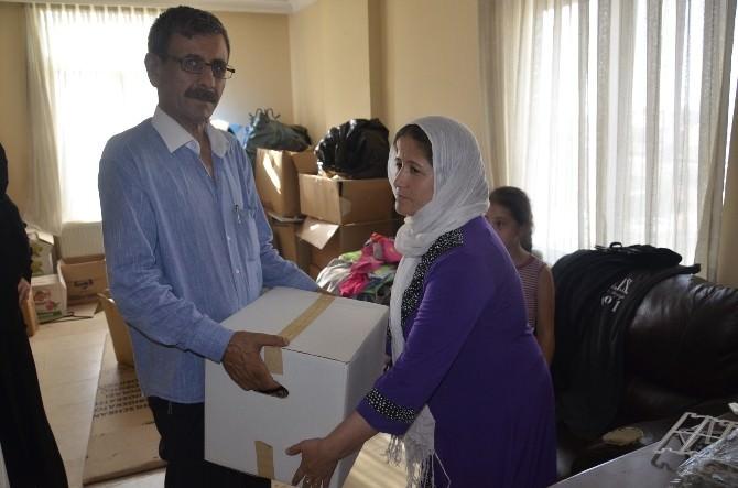 Mum Işığı Derneği'nden 300 Aileye Gıda Ve Giyim Yardımı Yapıldı
