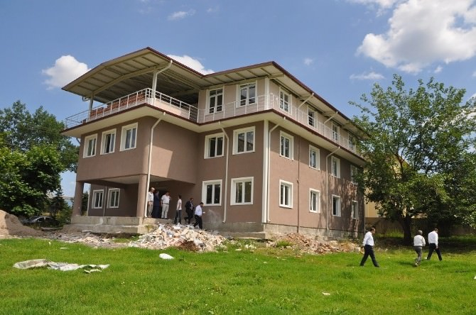 Seymen Polis Merkezi İnşaatında Sona Yaklaşıldı