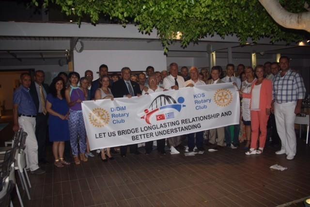 Didim Rotary İle Kos Rotary Kardeş Kulüp Oluyor
