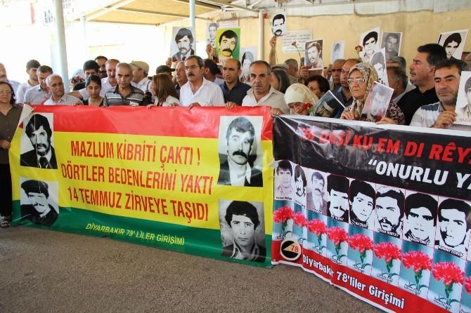 Diyarbakır'da 33 Yıl Önceki Açlık Grevinde Hayatını Kaybedenler Anıldı