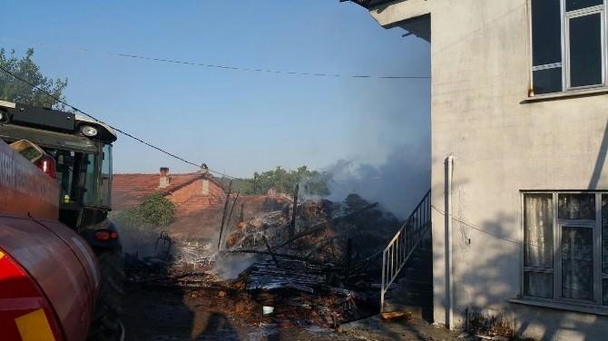 Dursunbey'de Yangın