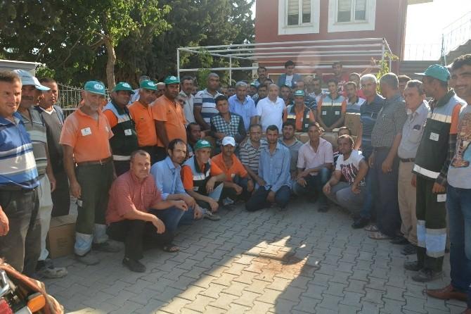 Belediye Çalışanlarına Gıda Yardım Paketi Dağıtıldı