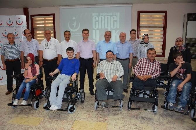 Engelli Vatandaşlara Akülü Araçları Törenle Verildi