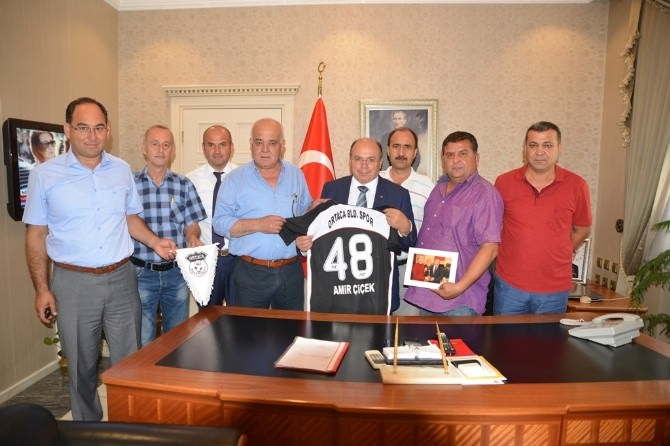 Ortaca Belediyespor Kulübü'nden Vali Çiçek'e Ziyaret