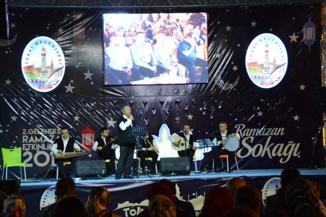 Tokat'ta Ramazan Sokağı Etkinlikleri İlgi Gördü