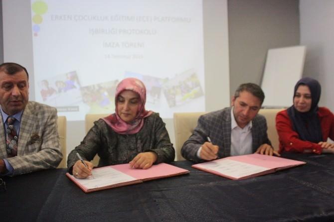 'Erken Çocukluk Eğitimi'nin Güçlenmesi İçin İşbirliği
