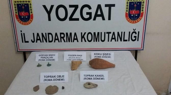 Yozgat Jandarmadan Tarihi Eser Operasyonu