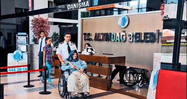 Altındağ'dan sevgi dolu refakat