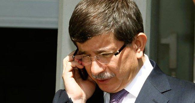 Davutoğlu'ndan Prens Faysal'ın kardeşine taziye telefonu