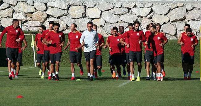Galatasaray'ın ilk etap kampı sona erdi