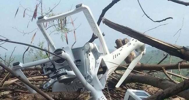 Pakistan, Hindistana ait casus drone vurdu