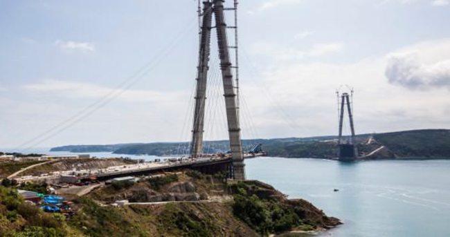 3. köprü inşaatında yeni gelişme