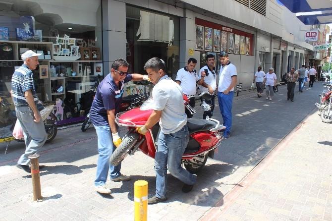 Polis Motosiklet Avına Başladı