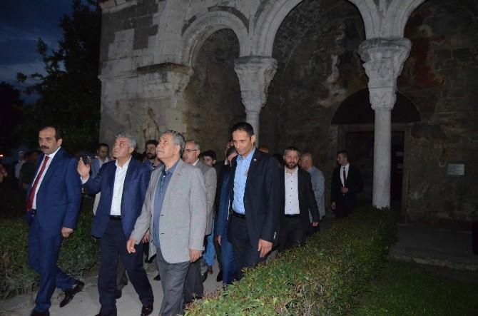 Başbakan Yardımcısı Bülent Arınç Trabzon'da