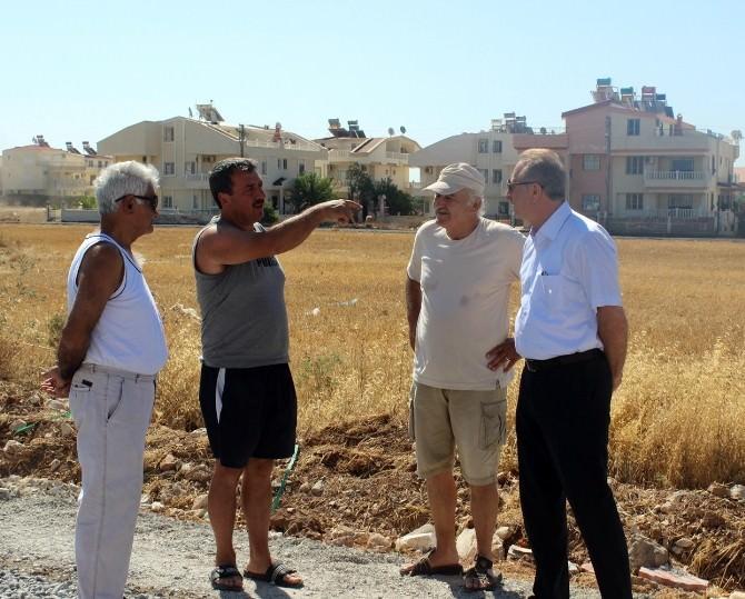 Başkan Atabay, Yol Ve Park Çalışmalarını Yerinde İnceledi
