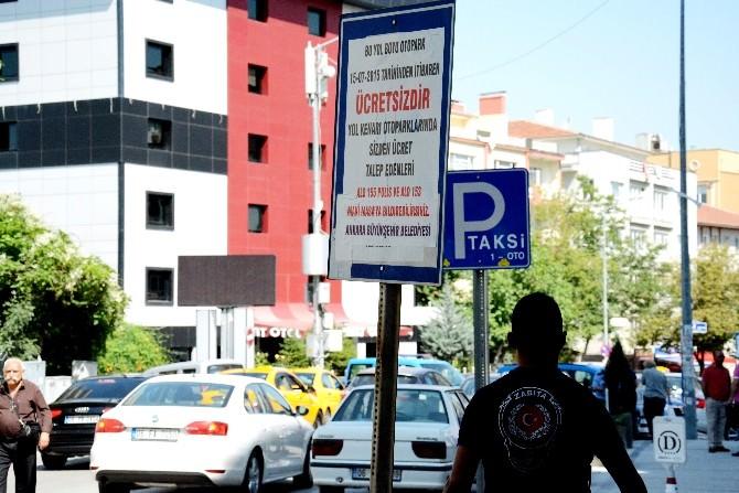 Ankara Büyükşehir Zabıtası'ndan Yol Boyu