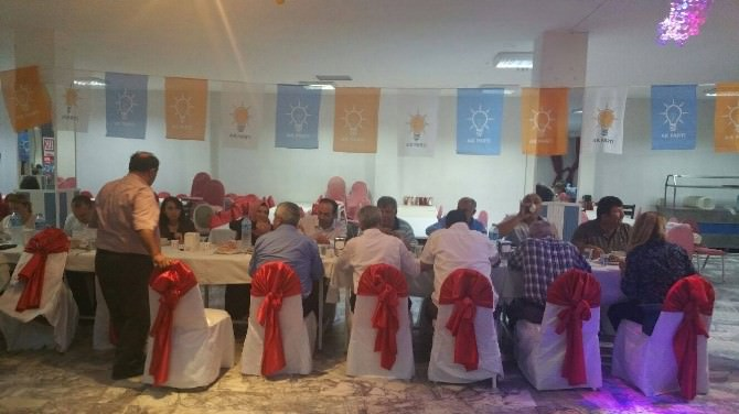 Dalaman AK Parti'den Geniş Katılımlı İftar Yemeği
