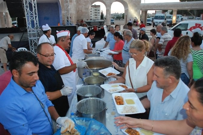 Didim Belediyesi'nin İftar Yemekleri Sona Erdi