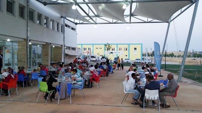 Gençlik Merkezi'nden İftar Yemeği