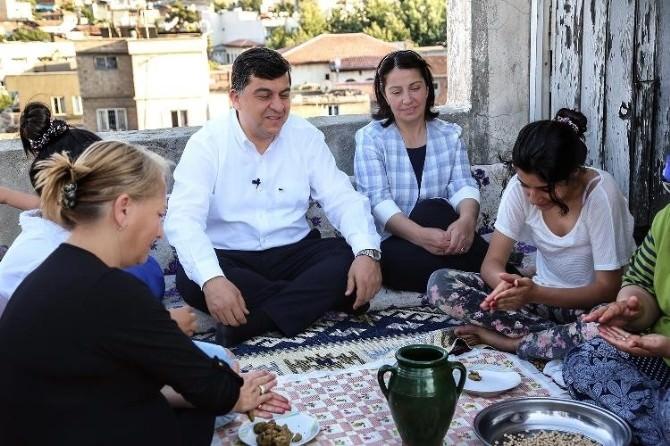 Gazianteplilerin Bayram Yemeği Yuvalama Hazır